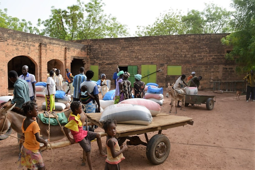Aide humanitaire Nouna